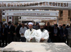 Şehit edilen  Filistinliler için gıyabi  cenaze namazı