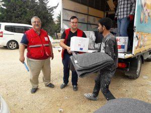 Kızılay'dan Suriyelilere Ramazan yardımı