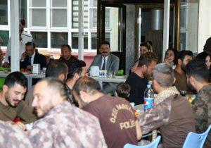 Afrin'e uğurlanan PÖH'ler birliğine döndü