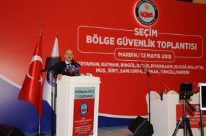 """Mardin'de """"Seçim Bölge Güvenlik Toplantısı""""yapıldı"""