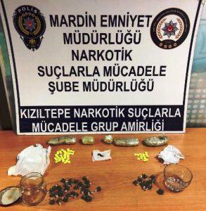 Kızıltepe'de Uyuşturucu operasyonu: 2 gözaltı