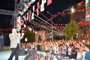 Yeşilli'de Kiraz festivali coşkusu