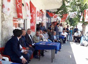 MHP Mardin İl Başkanlığından Ömerli'ye Çıkarma