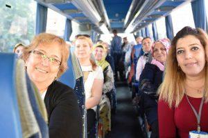 Kadınlar 'Kültür Turlar'ından memnun