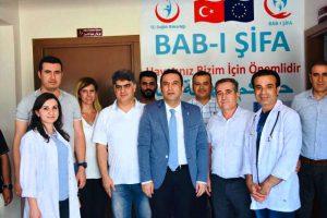 Nusaybin Göçmen Sağlığı Merkezi hizmete açıldı