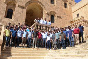 Elektrik Mühendisleri Deyrulzafaran ve Dara antik kentini dolaştı