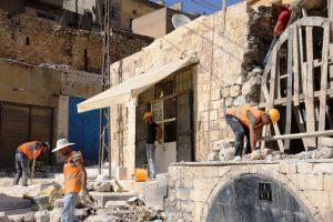 Mardin'in tarihi  sokakları yenileniyor