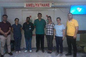 Derik Devlet  Hastanesi  ilkleri yaşıyor
