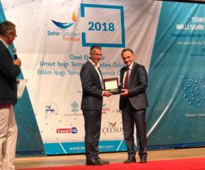 """DİKA'ya """"Yılın İşbirliği"""" Ödülü"""