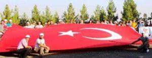 Mardin kalesinde bisiklet turu