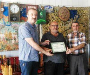 Kahveci Mehmet  Ustadan Örnek Davranış