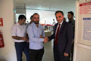 DİKA Genel Sekreteri Altındağ'dan Midyat'a ziyaret