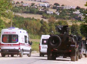 Nusaybin'de askeri aracın geçişi sırasında patlama