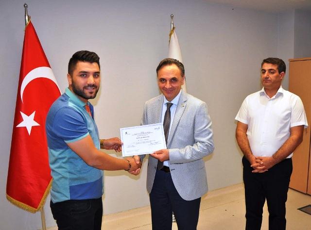 DİKA'dan sertifika töreni