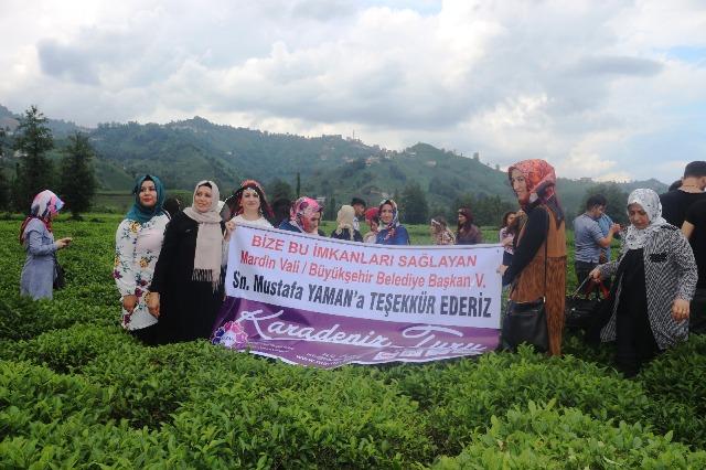 Mardinli Kadınlar Karadeniz gezisine çıktı