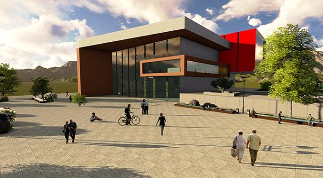 Mardin'e sanat  akademisi  hizmet binası