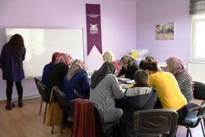 Bin 74 kadın okuma yazma öğrendi