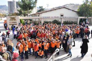 Öğrencilere Deprem Tatbikatı