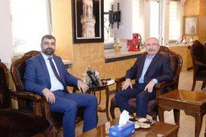 İl Başkanı Kılıç'tan Vali Yaman'a Ziyaret