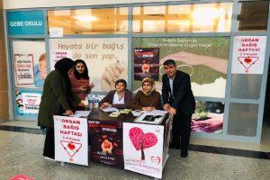 Vatandaşlara Organ  bağış çağrısı