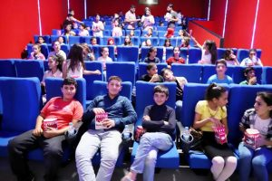 14 bin çocuk sinema ile tanıştı