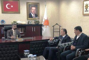 Dika'dan, Ak Parti İl Başkanlığına Ziyaret