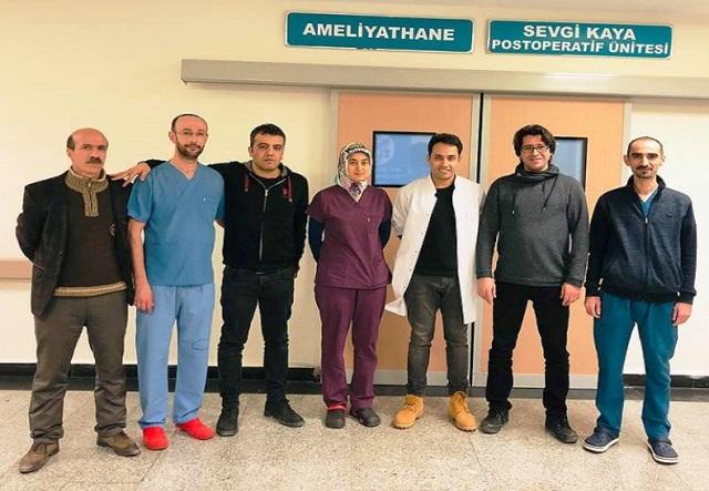 Mardin Devlet Hastanesinde bir ilk