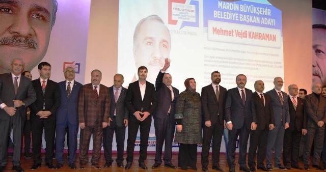 Ak Parti'nin Mardin Adayları tanıtıldı