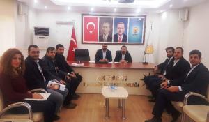 AK Parti Mardin İl  SKM'de Mahir Karaboğa görevlendirildi