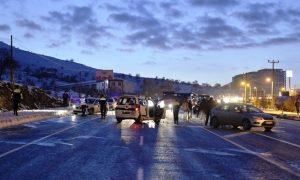 Zincirleme trafik kazaları: 8 yaralı