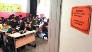 """Mardin'de """"gözetimsiz sınav"""" uygulaması"""