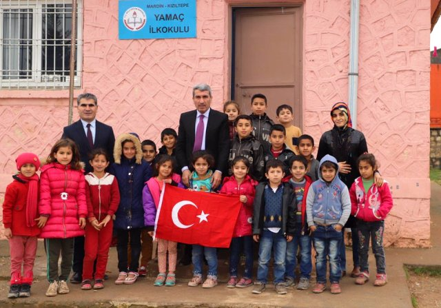 Milli Eğitim  Müdürü Sarı'dan  okullara ziyaret