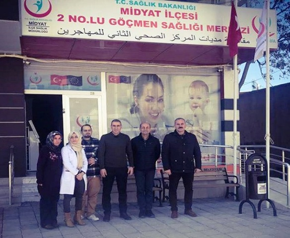 Midyat'ta  Göçmen  Sağlık merkezi açıldı