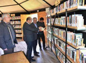 Türkiye'nin en Büyük Çadır Kütüphanesi Midyat'ta