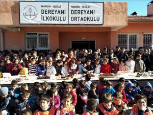 Yavru Temalardan Kardeş okula ziyaret