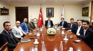 Mardin'in sorunları  bakanlıklara iletildi