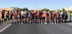 Nusaybin Belediyesince gençlik koşusu düzenlendi