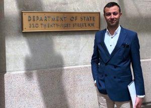 Mardinli Hocaoğlu, ABD'de Türkiye'yi temsil etti