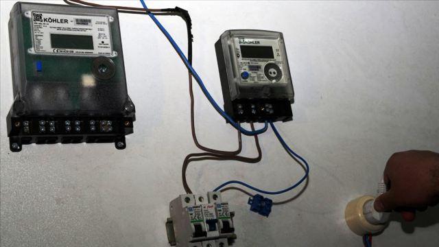 HDP ve DBP binasında  kaçak elektrik kullanılmış