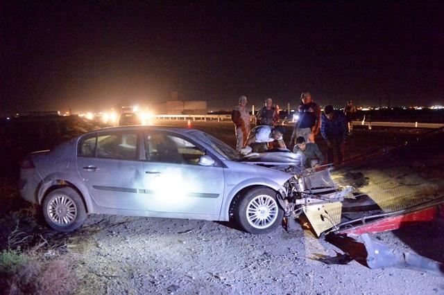 Artuklu'da trafik  kazası: 1 ölü, 3 yaralı