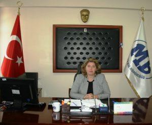 Ömerli'nin ilk kadın Mal Müdürü Altıntaş göreve başladı