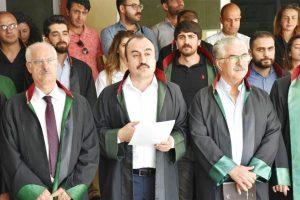 Avukatlar meslektaşlarına yapılan  saldırıyı kınadı
