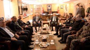 Emniyet Genel Müdürü Aktaş'tan Vali Yaman'a ziyaret