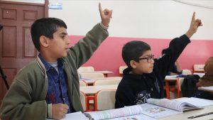 3 ilde sınır bölgelerinde eğitim öğretim başladı