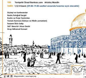 TÜGVA'dan Kudüs Fuarı
