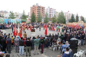 Midyat'ta Cumhuriyet bayramı kutlandı