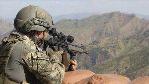 Derik'te terör operasyonu: 1 asker şehit