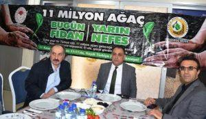 Mardin'de 135 Bin Fidan  Toprakla buluşturuluyor