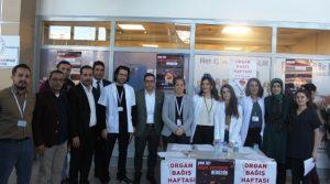 Mardin Devlet Hastanesi Organ Bağışı Standı Açtı