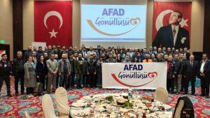 AFAD gönüllüleri  Mardin'de bir araya geldi